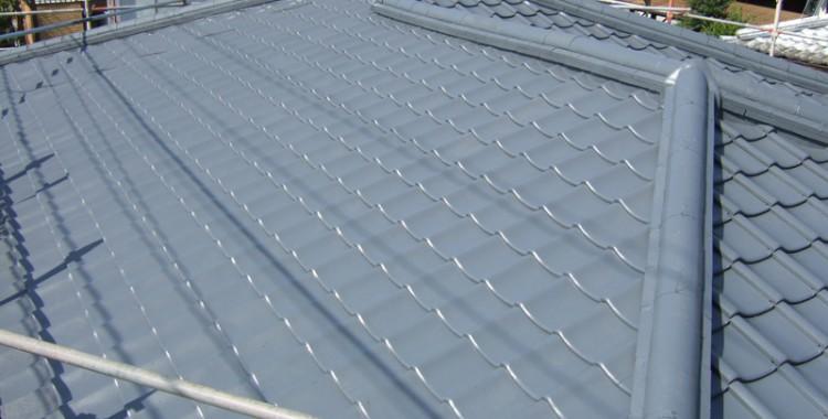 屋根塗装の施工例 福岡市西区 S様邸