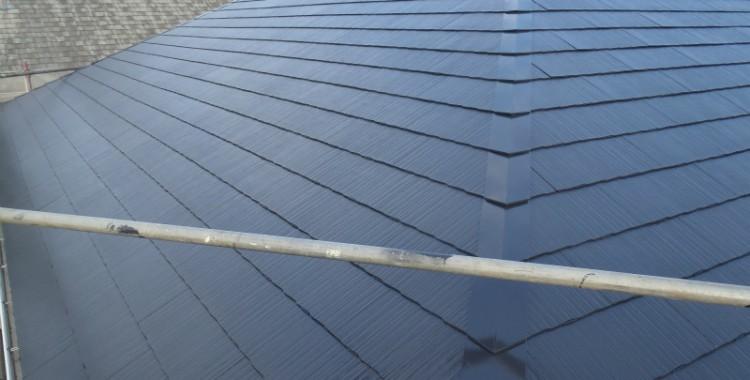 屋根塗装の施工例 糸島市 K様邸