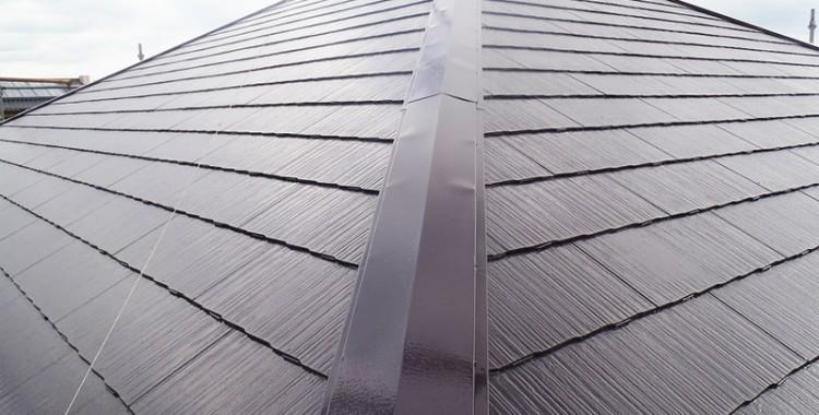 屋根塗装の施工例 糸島市 Y様邸