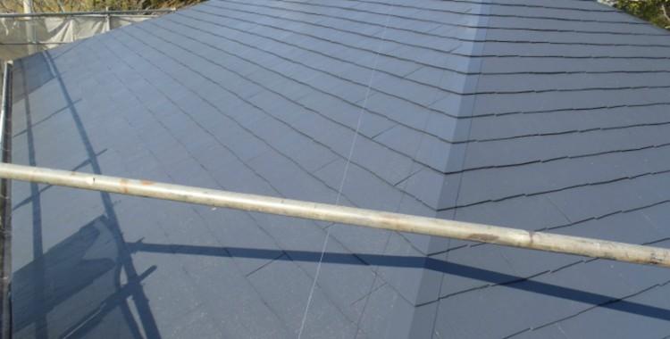 屋根塗装の施工例 糟屋郡宇美町 M様邸
