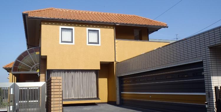 外壁塗装の施工例 福岡市西区 U様邸