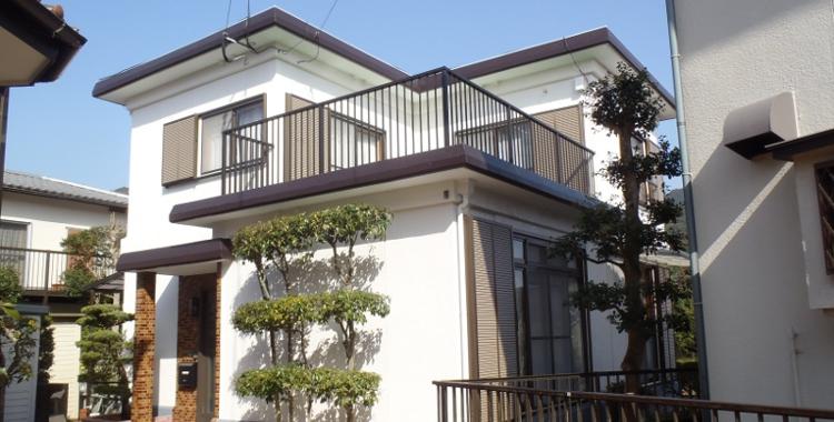 外壁塗装の施工例 福岡市早良区 M様邸