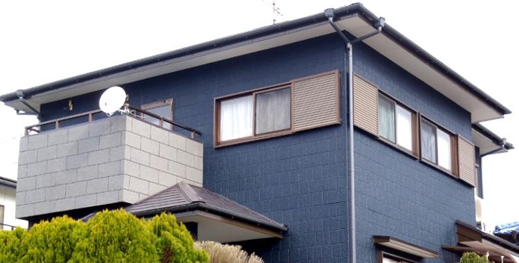 外壁塗装の施工例 糸島市 Y様邸