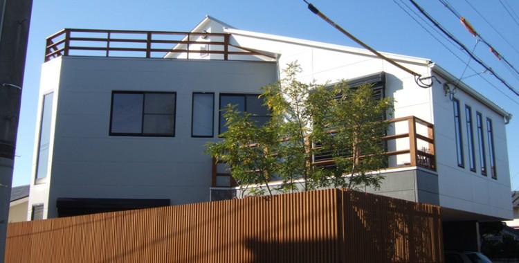 外壁塗装の施工例 H様邸