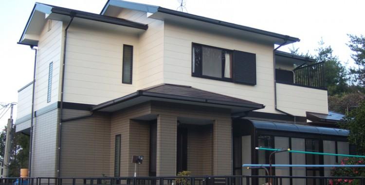 外壁塗装の施工例 M様邸