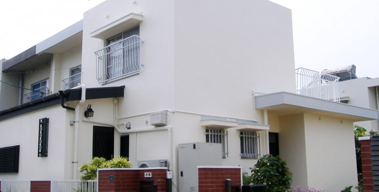 外壁塗装の施工例 N様邸