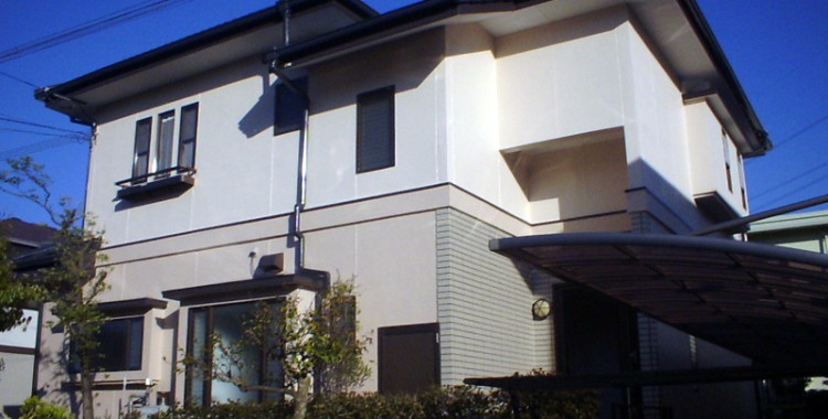外壁塗装の施工例 Y様邸