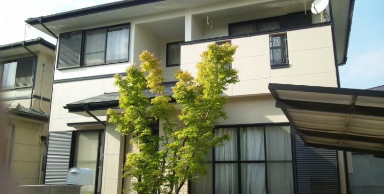 外壁塗装の施工例 糸島市 M様邸