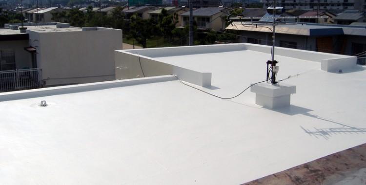 屋上防水の施工例 福岡市西区 N様邸