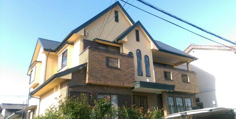 外壁塗装・屋根塗装 福岡市西区U様 工事日誌