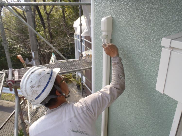 エアコン配管 塗装