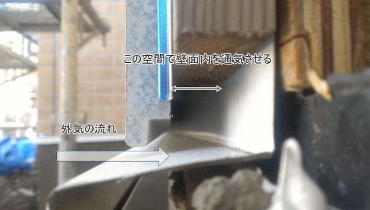 サイディングボード 通気工法
