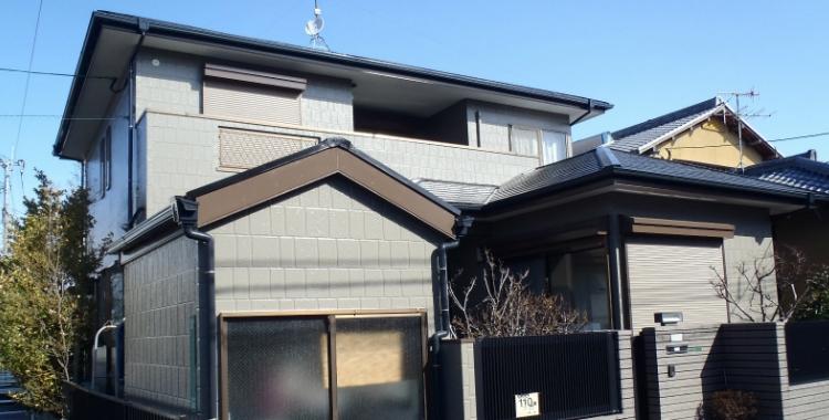 外壁塗装の施工例 福岡市西区 O様邸