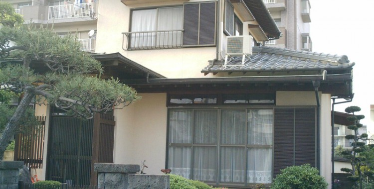 外壁塗装の施工例 S様邸
