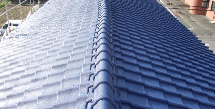 屋根塗装の施工例 福岡市西区 I様邸