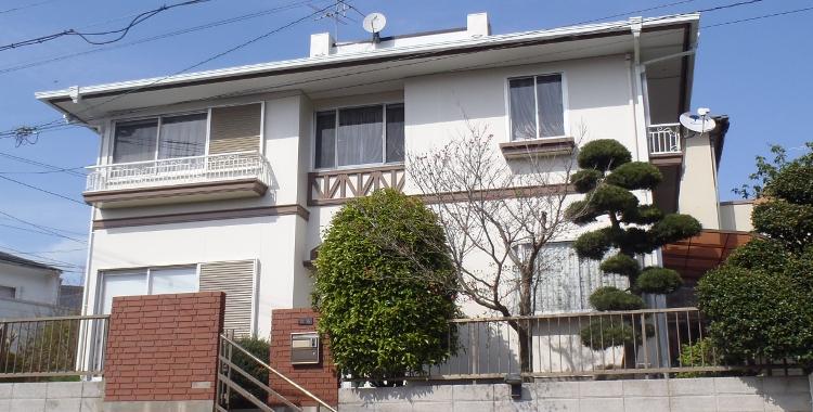 外壁塗装の施工例 福岡市城南区 G様邸