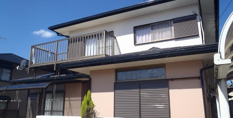 外壁塗装の施工例 糟屋郡篠栗町 Y様邸