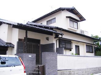 外壁塗装の施工例 K様邸