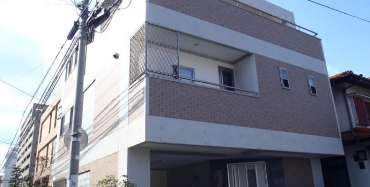 外壁塗装の施工例 福岡市城南区 O様邸