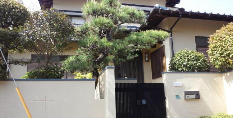 外壁塗装の施工例 福岡市東区 T様邸