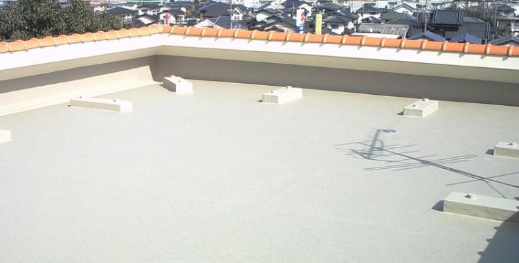 屋上防水の施工例 福岡市西区 U様邸