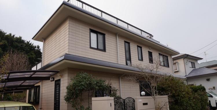 外壁塗装の施工例 福岡市西区 F様