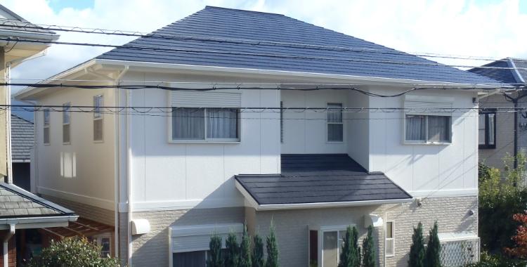 糸島市 サイディングボード カラーベスト コロニアル 外壁塗装 屋根塗装