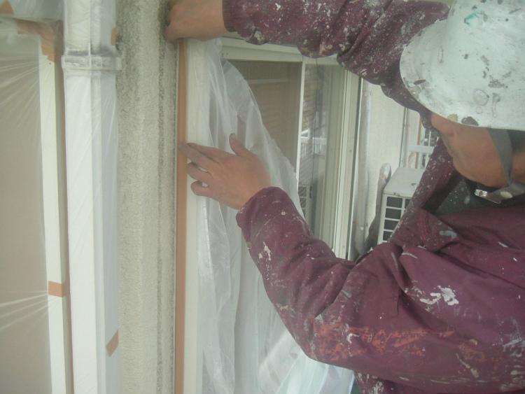 外壁塗装 養生