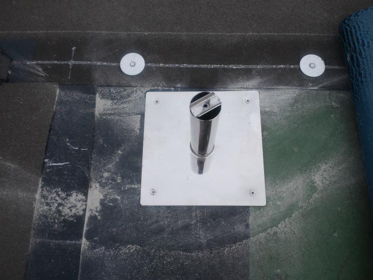 アスファルト防水 脱気筒