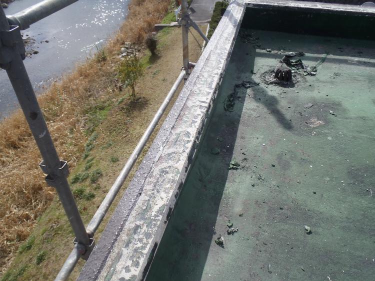 屋上防水 脆弱部