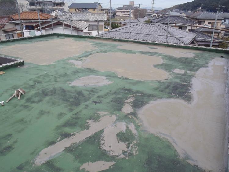 屋上防水 不陸調整
