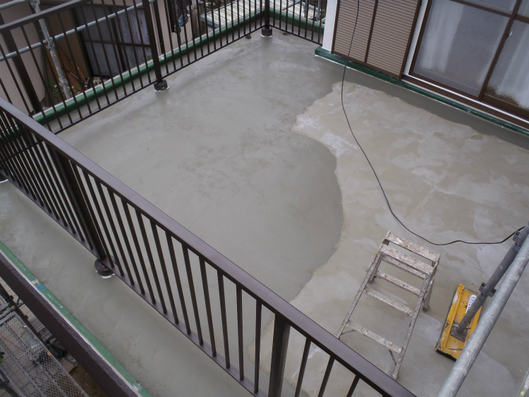 バルコニー防水 雨対策
