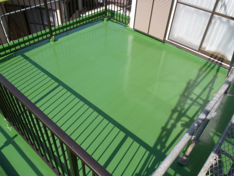ウレタン塗膜防水 トップコート