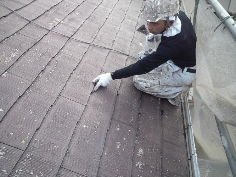 屋根塗装 縁切