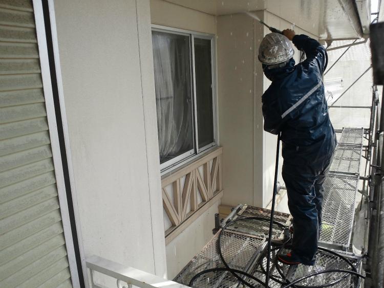 外壁 高圧洗浄