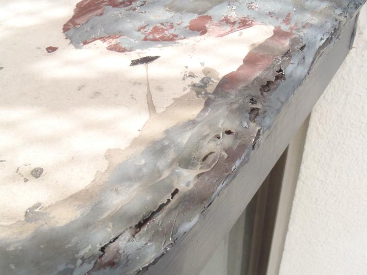 出窓 下地補修