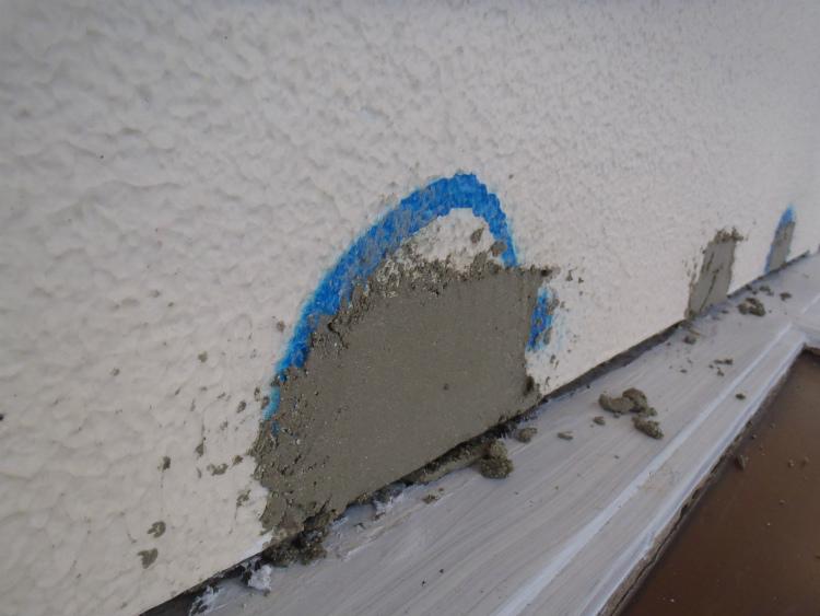 外壁 爆裂補修