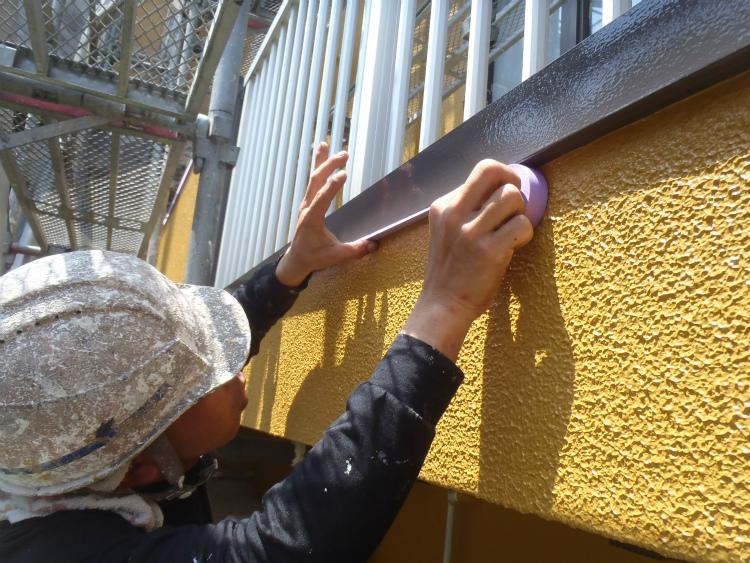 外壁塗装 手直し