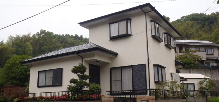 外壁塗装・屋根塗装 糸島市二丈町M様 工事日誌