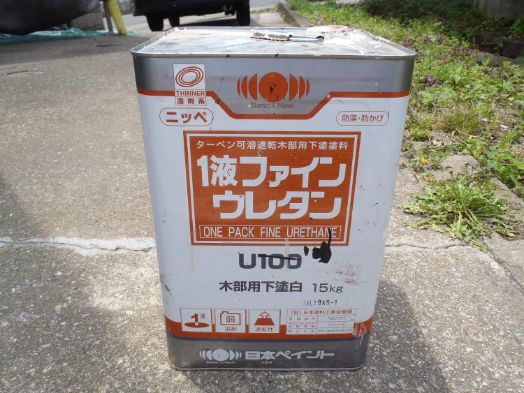 日本ペイント 1液ファインウレタン木部用下塗