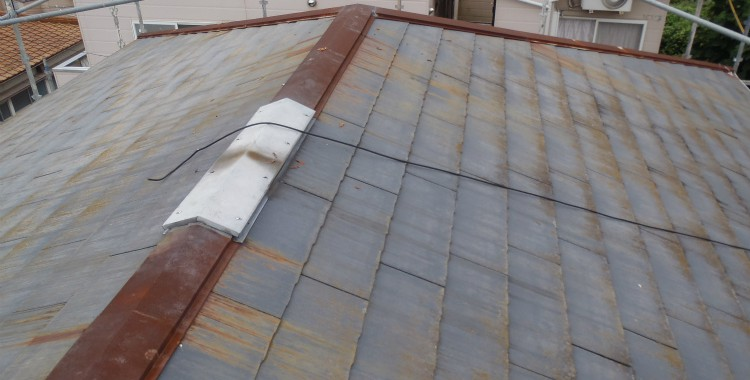 部位別の塗装方法 屋根塗装「スレート」