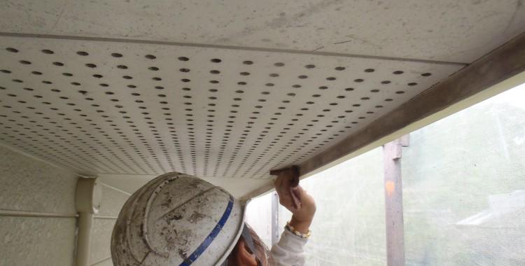 部位別の塗装方法 軒天塗装「ケイカル板・ボード等」