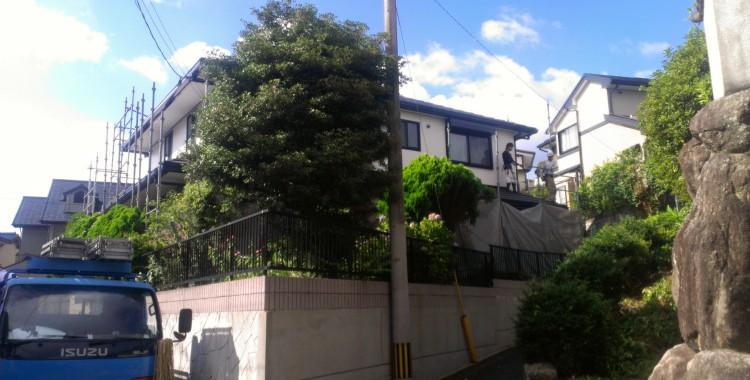 福岡市城南区 S様邸 サイディングボード塗装工事
