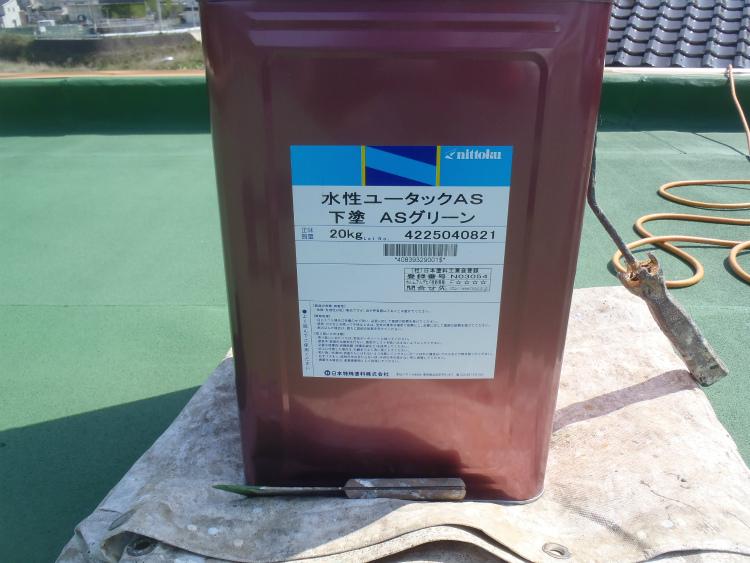 日本特殊塗料 水性ユータックAS 下塗ASグリーン