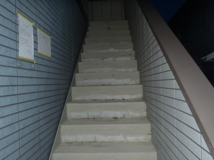 階段 下地処理