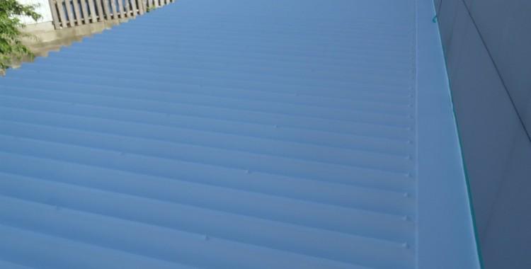 糟屋郡篠栗町 S造(鉄骨) 鋼板屋根塗装工事