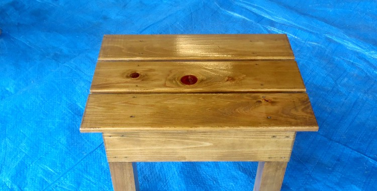 木目を生かした塗装方法