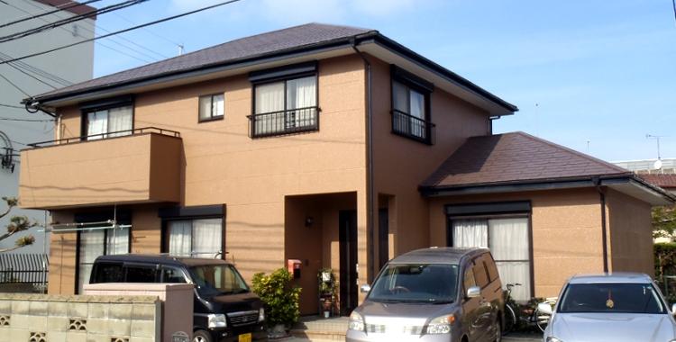 外壁塗装の施工例 福岡市西区 H様邸