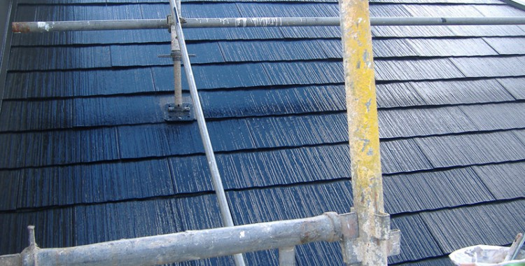 屋根塗装の施工例 福岡市西区 O様邸