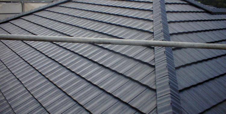 屋根塗装の施工例 筑紫野市 Y様邸